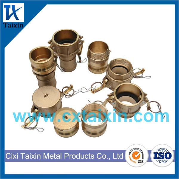Brass Camlock Coupling Type A B C D E F DC DP