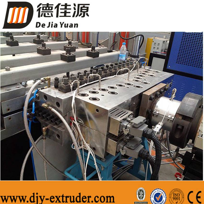 Plastic PVC profile machinery extrusion line