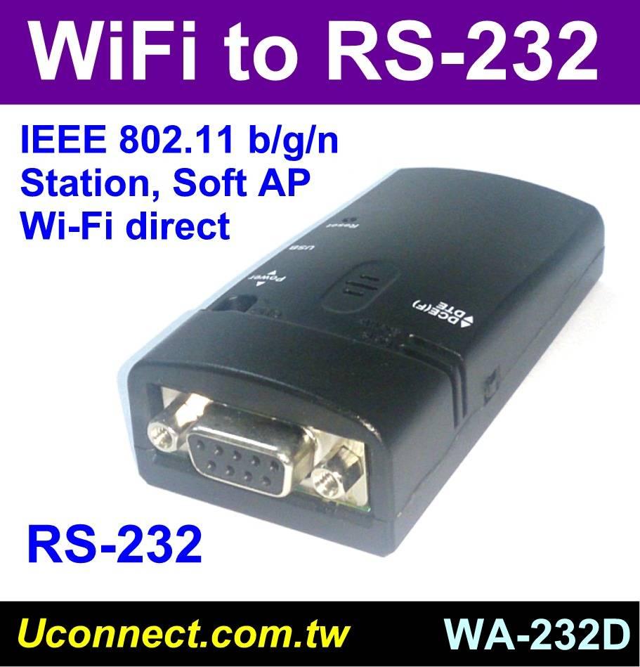 WiFi RS-232 adapter-WA-232D