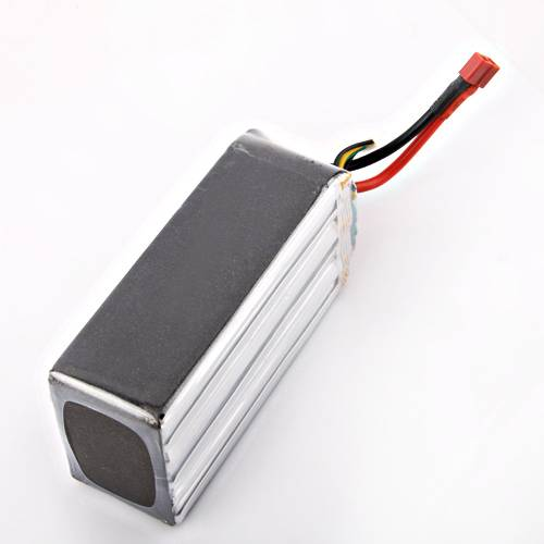 High C-rate 5200mAh 22.2V 65C RC Lipo Battery