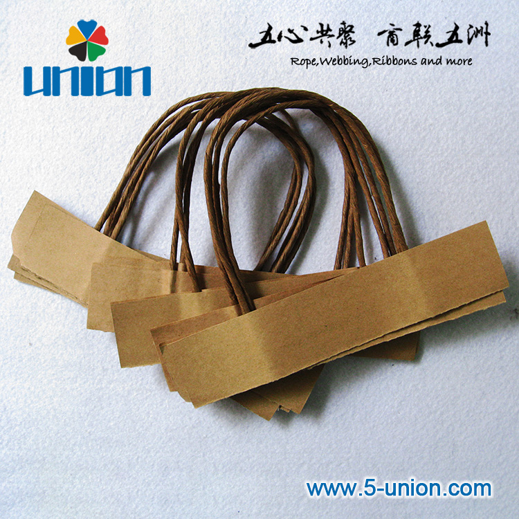 Environmental Hot Selling Twisted Paper Rope Bag Handle