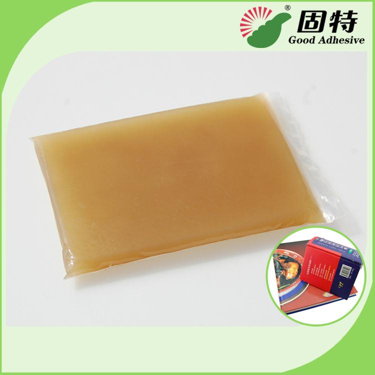 hot melt jelly glue for case making machine.Kolbus hot melt jelly glue