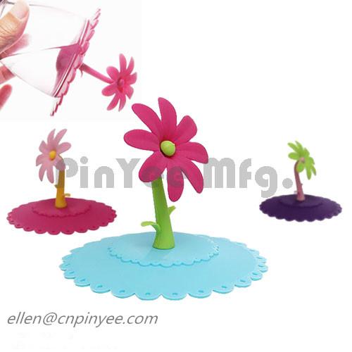 flower cup lids