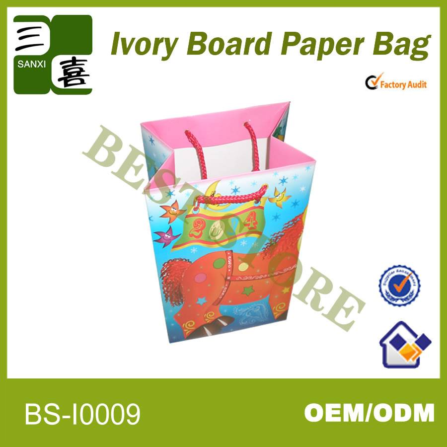 paper cosmetic bag parchment paper bags printing mickey mouse