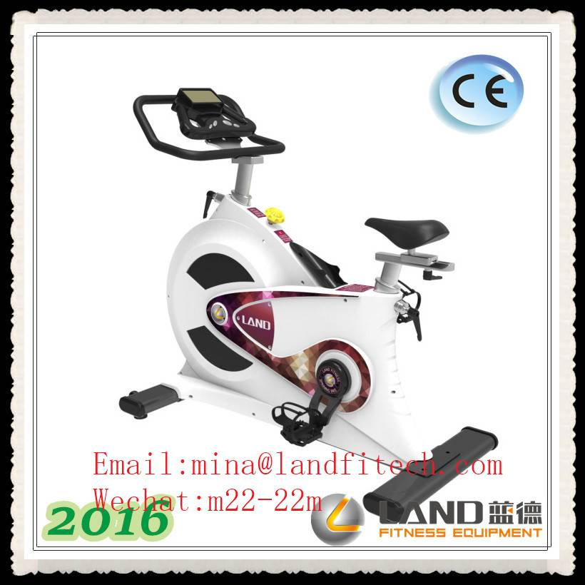 2016 New Arrival High Quality Belt Driving Exercise Bike Club Gym Electric Bike