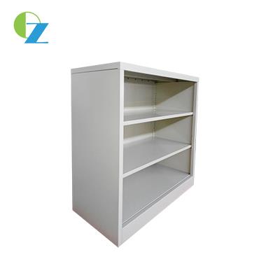 Modern Design Open Shelf Steel Book Case Cupboard