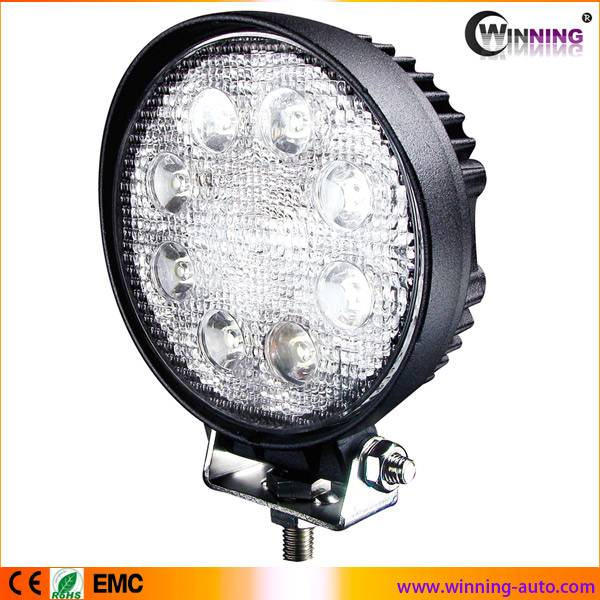 high quality 24w 6000k flood beam led work light