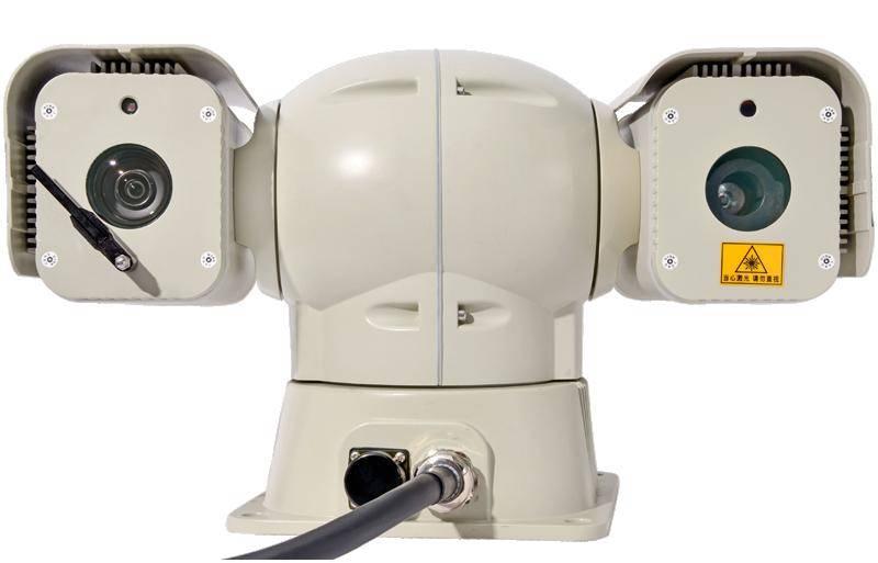 Aithink 1000M 360 degree HD horizontal far-range PTZ laser thermal infrared fog-penetrated auto-crui