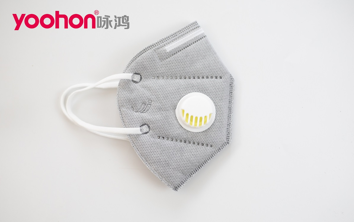 Yoohon KN95 Face Mask with Breathing Valve Face Mask