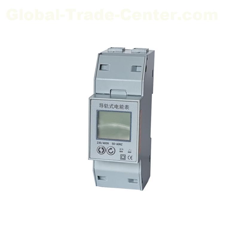 19D smart energy meter,din rail watt hour meter with RS485