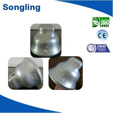 134KN steel cap for procelain insulator