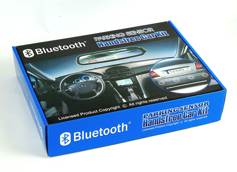 Bluetooth Handsfree Car Kit With Packing Sensor
