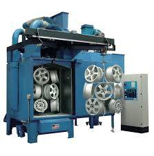 Hook Shot Blasting Machine Hook Shot Blast Cleaning Machine Used For Spare Parts Rust Removal
