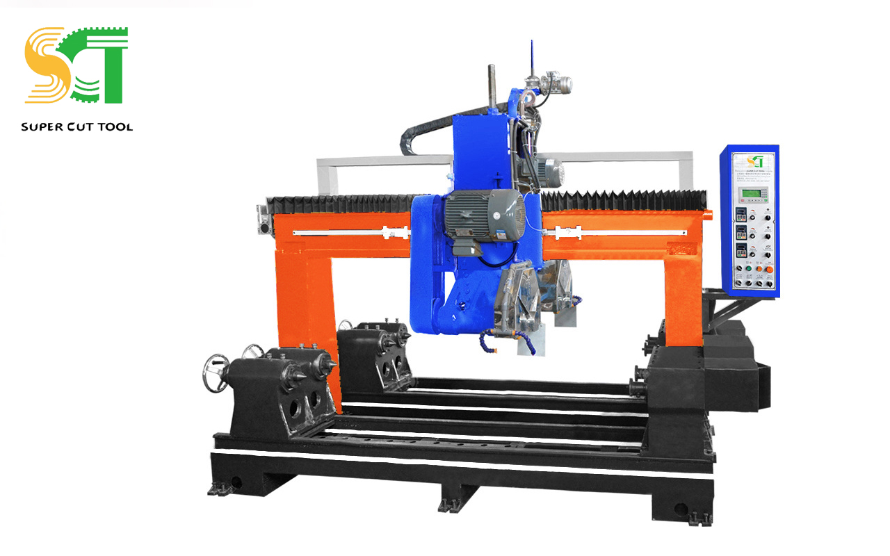 Automatic Special Shapes Profiling Cutting Machine For Stone Processing