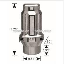 Wheel lug nuts m14x1.5 Spline and Tuner lug Nuts with 3800 spline key Anti-theft bolt and nuts