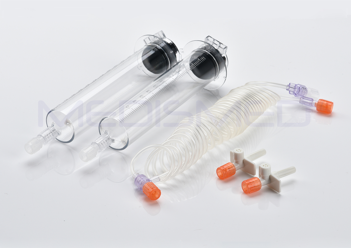 Seacrown C60 contrast injector syringes 65ml /65ml