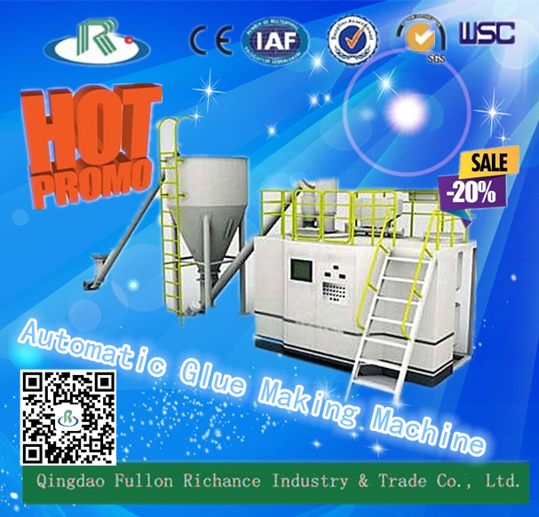 GM Series Automatic Glue Making Machine