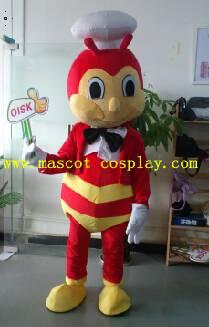 OISK Professional custom mascot costume bumblebee mascot adult size