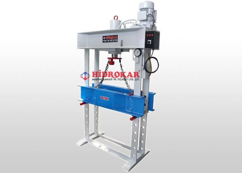 hydraulic workshop press 60 tons
