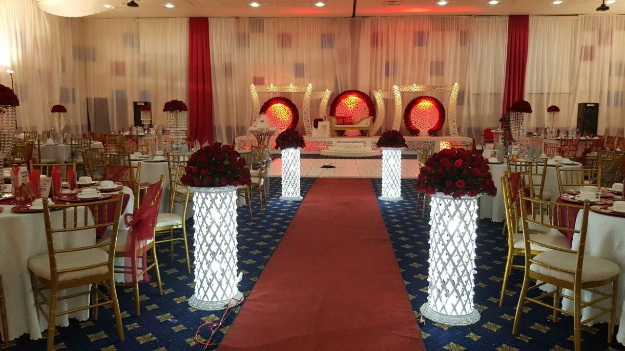 Event & Party Supplies Type wedding mandap pillar decoration lighted wedding cloumn