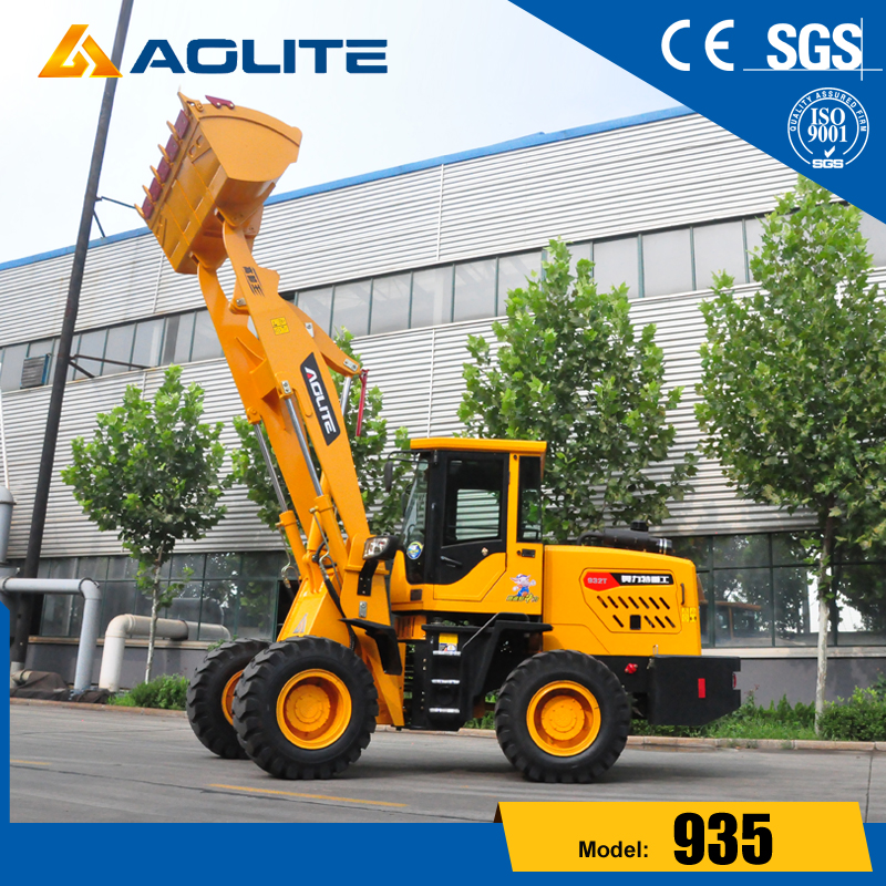 2ton chinese factory good price hydraulic wheel loader 935 for sale