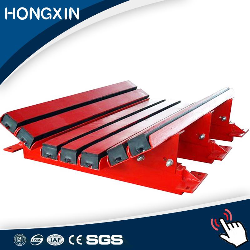 wear resistant polyurethane rubber conveyor impact bar buffer bed