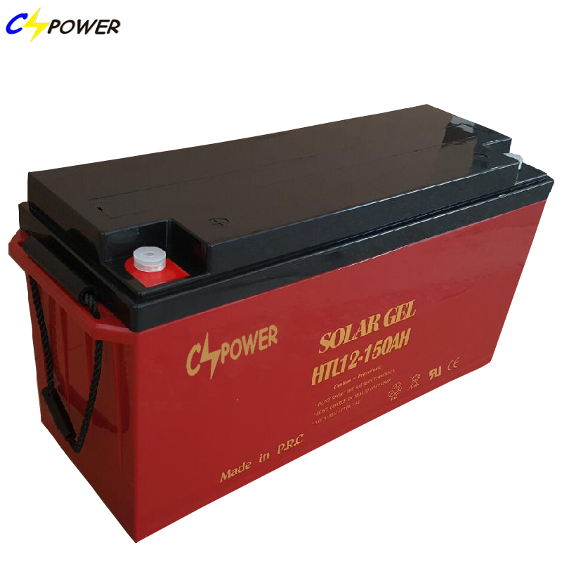 HTL12-150 12V 150ah Deep Cycle Gel VRLA Battery High Temperature Battery