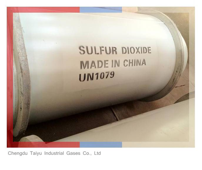 Food Grade Sulfur Dioxide SO2 Gas Price