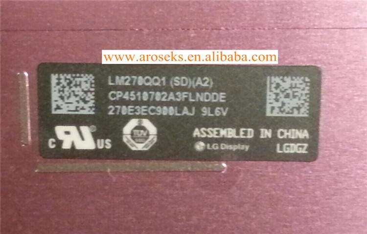 LM270QQ1-SDA2 lcd with touch screen for Apple Imac Retina 5K MF886CH  A1419 2014 / A ZD71