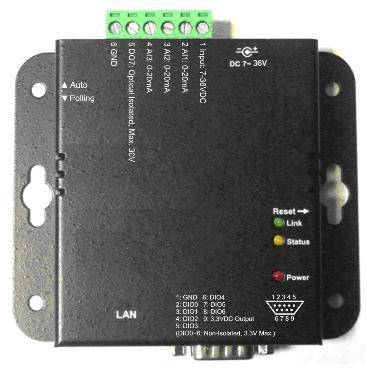 Ethernet to DI/I & AI gateway