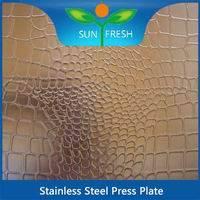 STEEL PRESS PLATES
