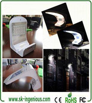Super Bright Solar Motion Light with Pure White and Warm White Lighting