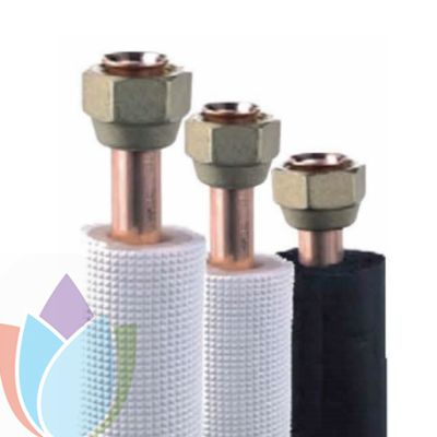 copper insulated tube with flare screw