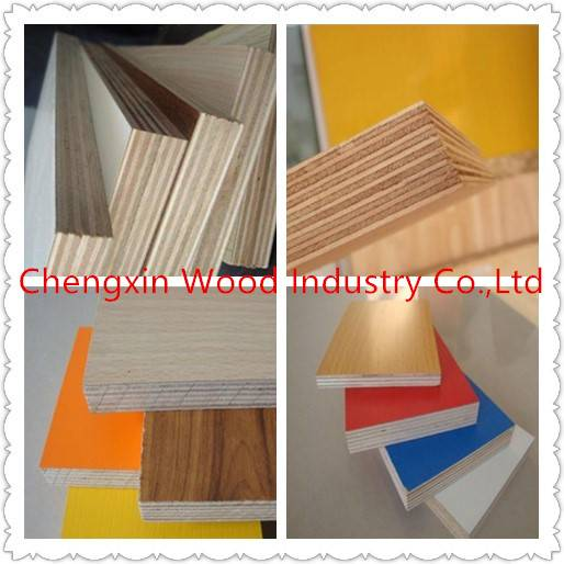 Commercial plywood for construction
