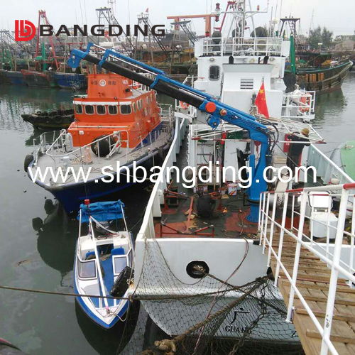 Electric Shipyard Hydraulic Cargo Crane