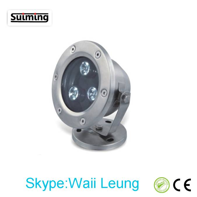 3W Hot Sale High Quality Suiming LED Underwater Light
