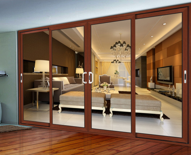 Difference types of aluminium window and door