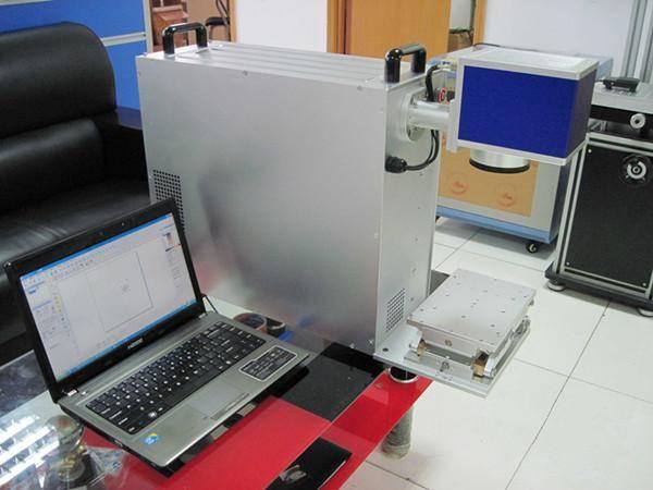 10w 20w fiber laser marking machine on tungsten/silver/gold rings