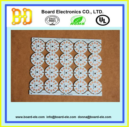 led round pcb board with UL ROHS ISO compliance