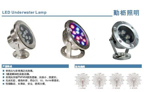 LED Fountain /Underwater Lamp