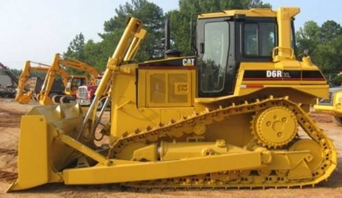 new unused CAT dozer D6R i130001 EIJH db40121