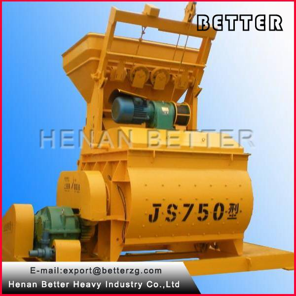 750L mobile concrete mixer