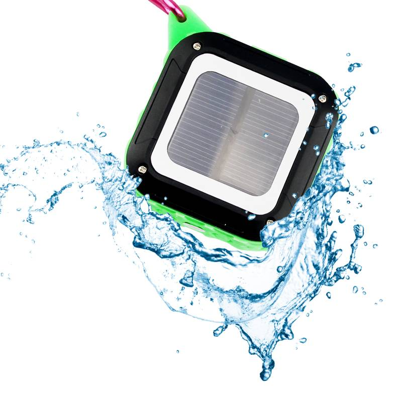 2016 new waterproof solar bluetooth speaker