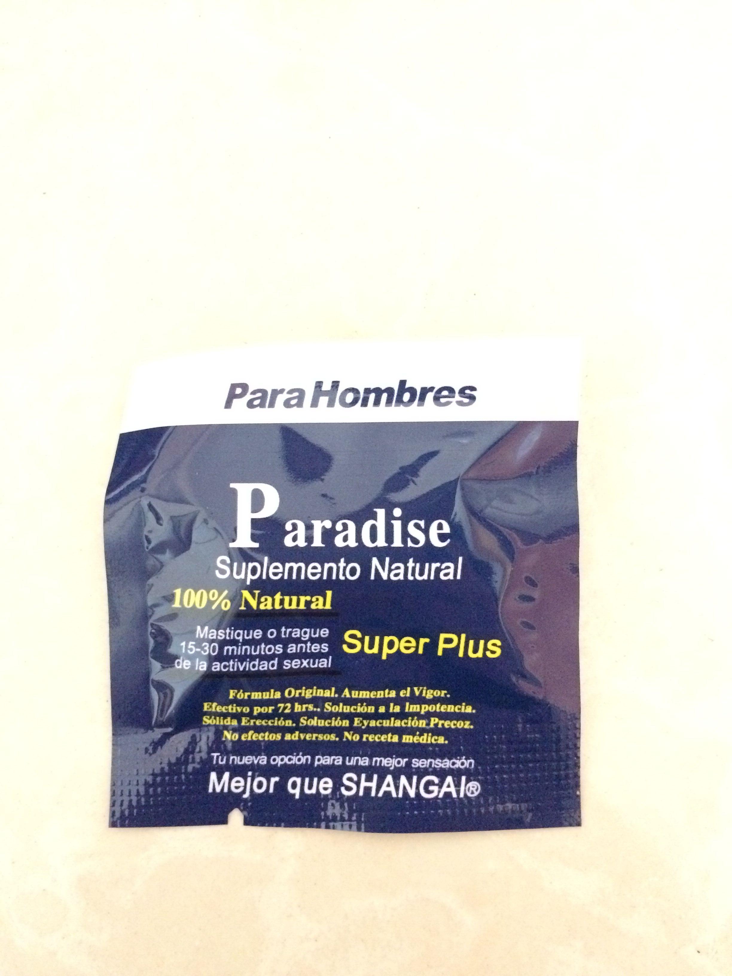 top sale sex product paradise super plus