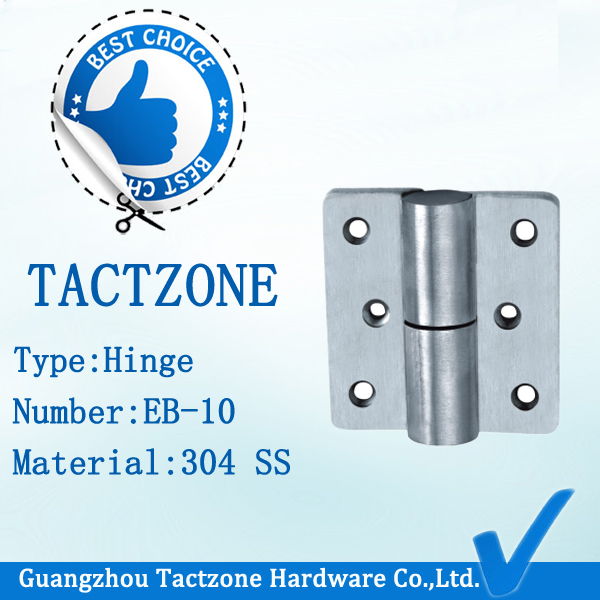 Precision Casting 304 Ss Toilet Partition Hardware Mounted Hinge