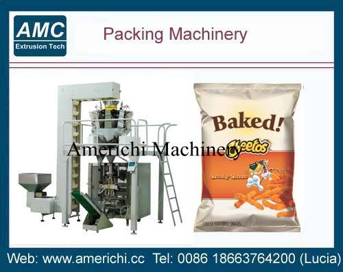 Snacks food packing machine