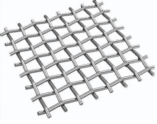stainless steel crimped mesh/crimped filter mesh/car grill mesh