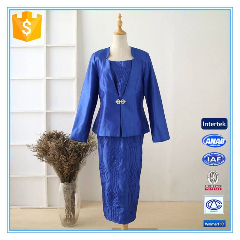 Ladies Formal Designer 3 Piece Skirt Suits For Church China Manufacturer