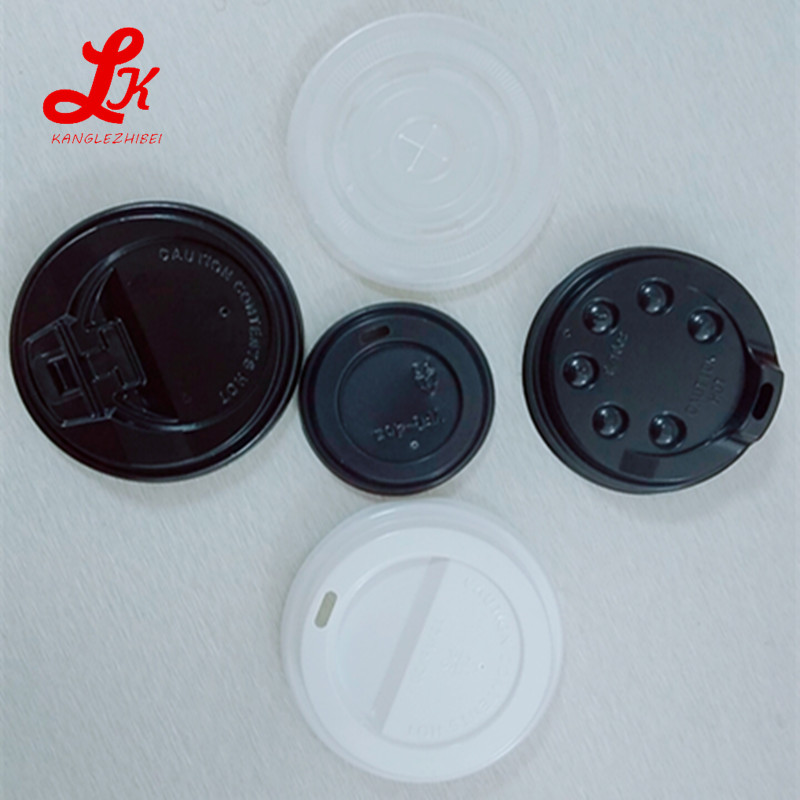 plastic lid PP/PS/PET materials non spill and sealing