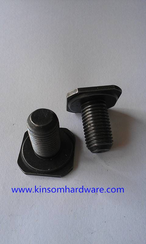 Square screw used in auots